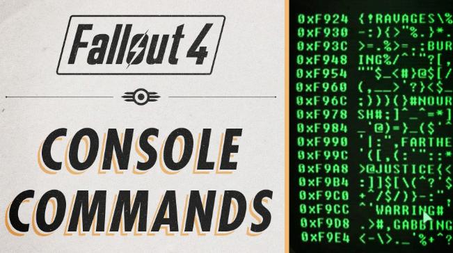 Fallout 4 cheats