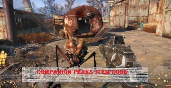 fallout 4 Companion Perks Item Code