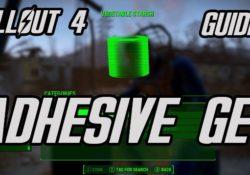 Fallout 4 Adhesive