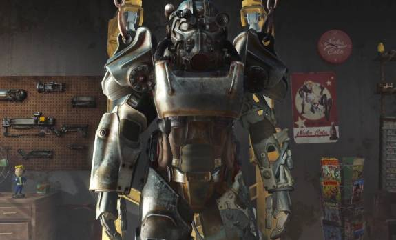 Fallout 4 Levelled power armor