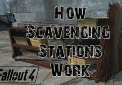 Fallout 4 Scavenging station