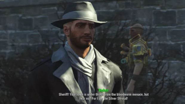 silver shroud fallout 4