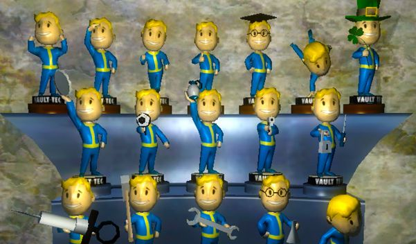 fallout 4 Bobble heads