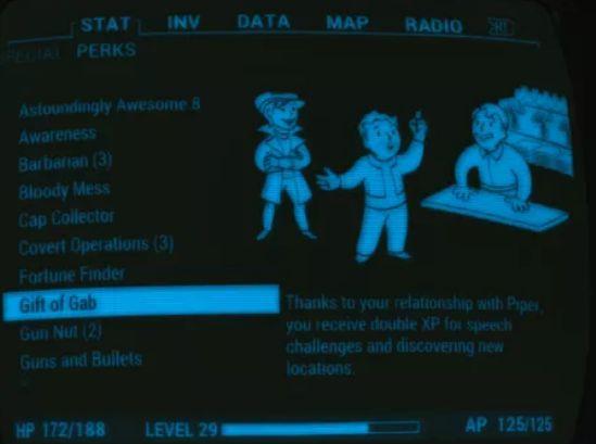 fallout 4 Companion perks