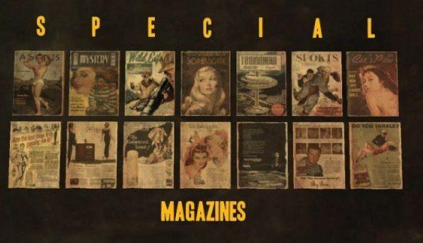 fallout 4 Magazine perks